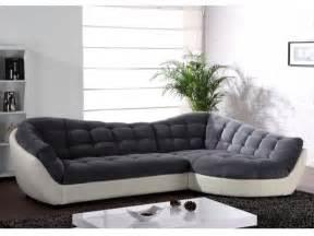 sofa rundecke ecksofa rundecke leder microfaser leandro