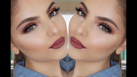 Super Simple Fall Makeup Tutorial - YouTube