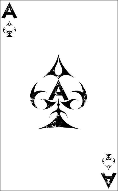 ace of spades | Ace of spades tattoo, Spade tattoo, Ace of spades