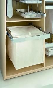 Panier Coulissant Dressing : accessoires pour penderie panier linge pour cadre coulissant ~ Premium-room.com Idées de Décoration