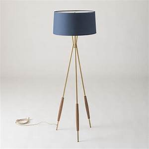 Mulberry Tripod Floor Lamp Schoolhouse Electric