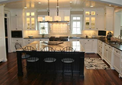 cuisine ouverte avec ilot table cuisine americaine avec ilot central deco maison moderne