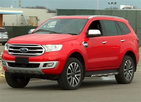 ford everest  ford endeavour spied undisguised
