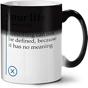 356,000+ vectors, stock photos & psd files. Amazon.com | Your Life Color Changing Mug, Define Funny Cup - Large, Easy-Grip Handle, Heat ...
