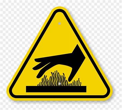 Clipart Caution Warning Surface Sign Signs Symbols