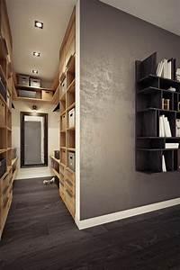 Concrete wall decor interior design ideas
