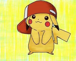 Chibi Pikachu With Ashs Hat | www.pixshark.com - Images ...