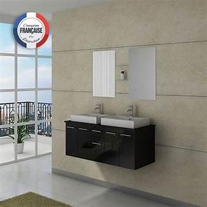 Meuble De Salle De Bain Solde : meuble salle de bain ref dis981n ~ Teatrodelosmanantiales.com Idées de Décoration