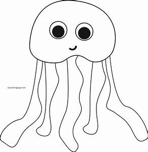 Top 64 Jellyfish Coloring Pages - Free Coloring Page