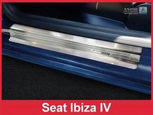 Seat Ibiza Radkappen : einstiegsleiste edelstahl schwarz satin f r seat ibiza iv ~ Kayakingforconservation.com Haus und Dekorationen