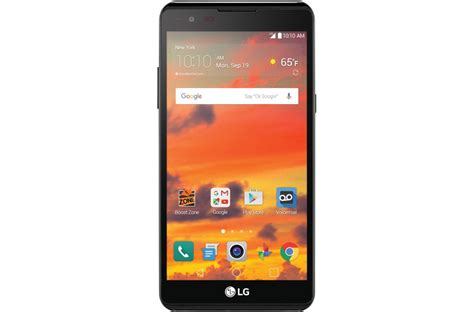 boost mobile smartphones lg x power boost mobile smartphone ls755 lg usa