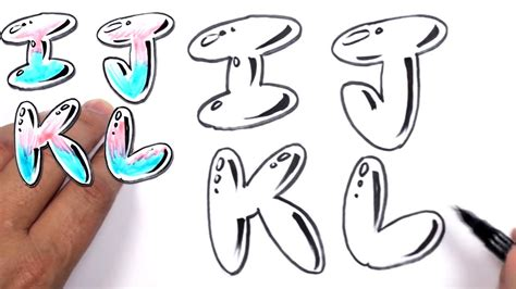 Graffiti Abc Bubble : Letters Of The Alphabet In Graffiti Drawing At Getdrawings