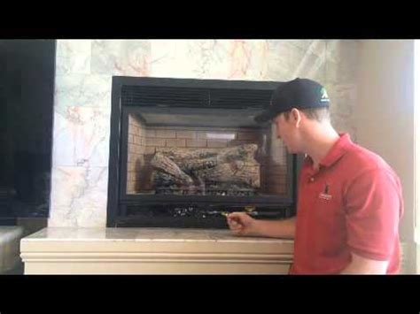 how to turn on a gas fireplace how to shut gas fireplace with standing pilot