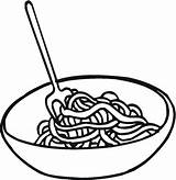Spaghetti Coloring Pages Ethnic Ads Without sketch template