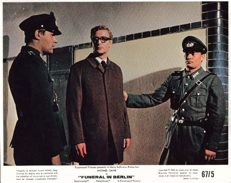 Michael Caine Funeral In Berlin Lobby Card 1966 Ebay