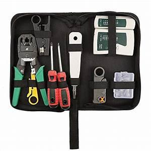 Hiija 9 In 1 Network Tool Kits Professional Cat6 Rj45