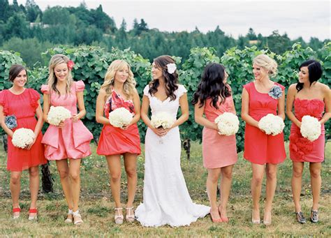 {special Wednesday} Top 10 Coral Bridesmaid Dresses Ideas