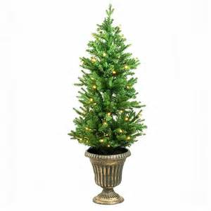 4ft potted pre lit artificial tree 4ft tree