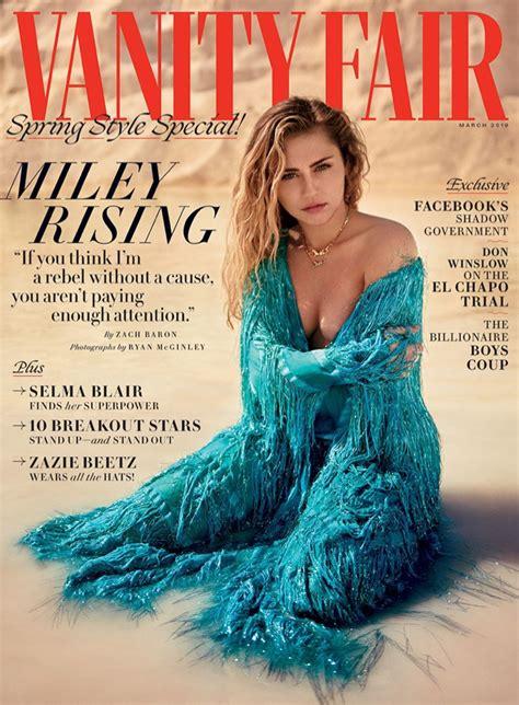 Miley Cyrus Vanity Fair 2019 Cover Photoshoot | Fashion ...