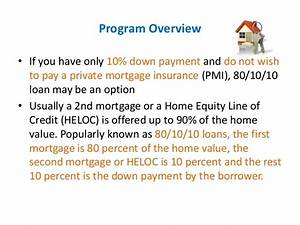 80 10 10 loan understanding the basics With documents required for home equity line of credit