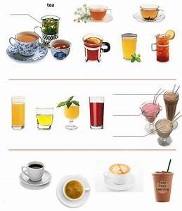 Different drinks exercise learning English