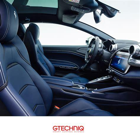 La gtc4lusso t è equipaggiata con l'ultima evoluzione del motore turbo v8 da 3,9 litri che vanta una potenza massima di 610 cv a 7.500 giri/min e garantisce una sensazione di spinta crescente grazie alla coppia massima di 760 nm che è disponibile tra i 3000 e i 5250 giri/min. #Ferrari GTC4 Lusso . Beautiful blue leather interior. Protected by Gtechniq and our Regional ...