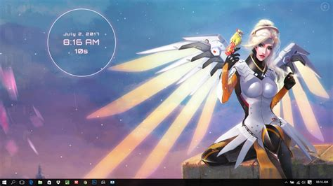 Top Anime Wallpaper Engine - overwatch mercy wings wallpaper engine free