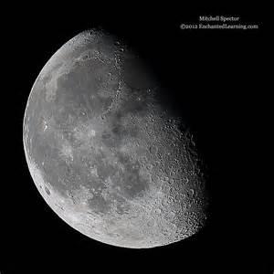 Waning Third Quarter Moon