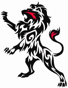 Tribal Lion Tattoo Customshirtzazzleproducts1 - TATTOOS