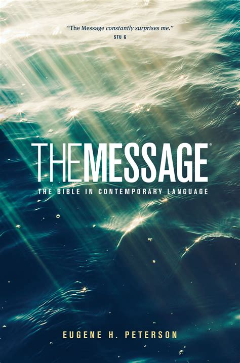 tyndale  message ministry edition  bible