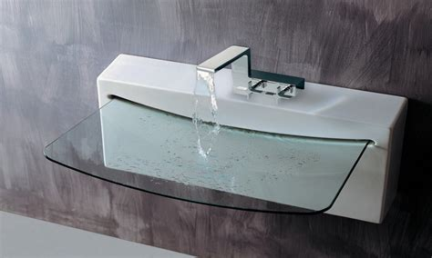 Cool Bathroom Sinks, Modern Glass Bathroom Sink Ultra