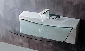 cool bathroom sinks modern glass bathroom sink ultra With cool sinks for small bathrooms