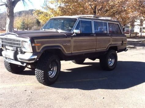 1989 jeep wagoneer interior sell used 1989 jeep grand wagoneer in boulder colorado