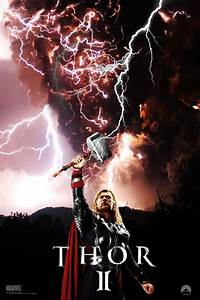 Thor 2 movie poster by DComp on DeviantArt