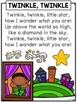 nursery rhymes twinkle twinkle  star