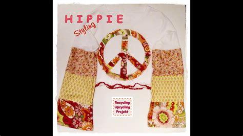 hippie t shirt selber machen n 228 hen mit hippie styling teil 1 t shirt recycling upcycling
