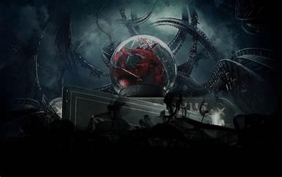 Sci Horror Dark Gothic Fi Wallpapers Wallpaperup