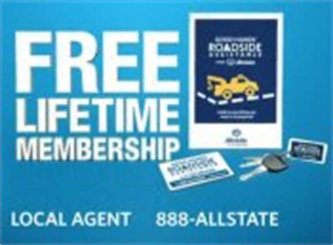 allstate roadside assistance phone number 187 allstate s free lifetime membership in roadside assistance
