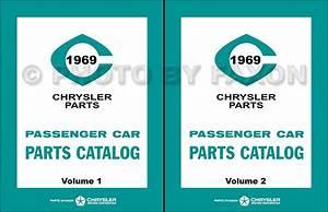1969 Plymouth Color  U0026 Upholstery Dealer Album Original