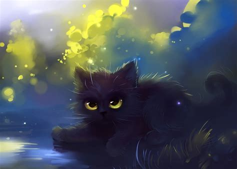 Http Hd Wall Papers Images Wallpapers Anime Anime Cat Wallpaper 63 Images