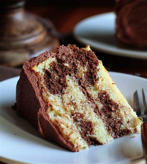 perfect marble cake   perfect whipped chocolate