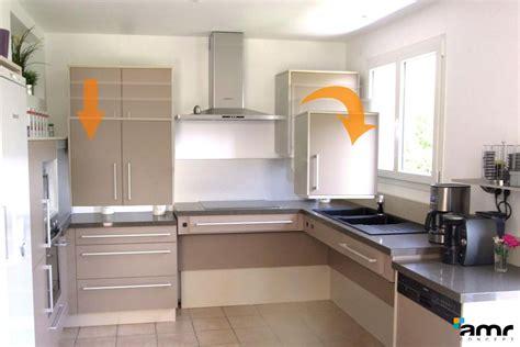 hauteur de meuble de cuisine meuble cuisine en hauteur cuisine en image