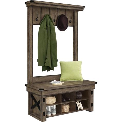 Entryway Bench With Shoe Storage And Coat Rack by Entry Bench And Coat Rack Tree With Shelf Shoe