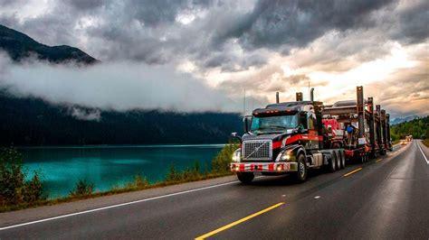 volvo trucks running footage  volvo vnx