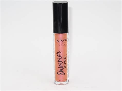 Nyx Shimmer nyx shimmer lip veil review swatches and