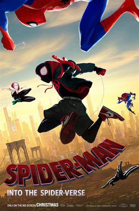 spider man   spider verse trailer    poster