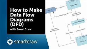 How To Make Data Flow Diagrams  Dfd  With Smartdraw