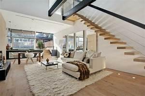 l39 interieur de la maison contemporaine salon design With entree exterieur maison moderne 10 maison scandinave avec un design contemporain