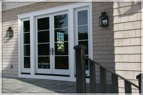 lowes exterior patio doors wooden style