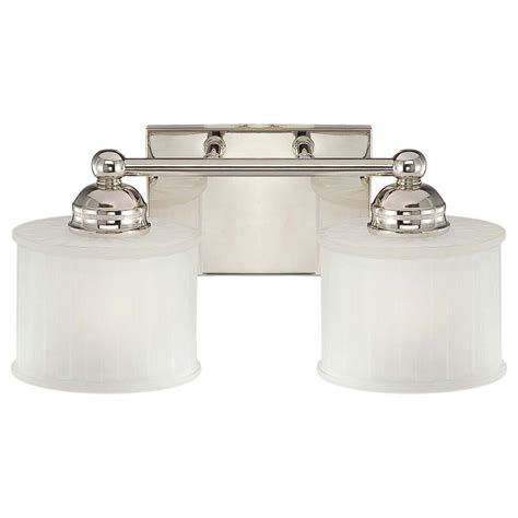 Minka Lavery 2light Polished Nickel Bath Light67321613